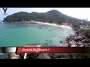 Crystal Bay Koh Samui Thailand overflown with my drone