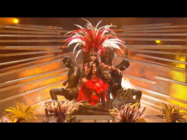 Nicki Minaj - Trini Dem Girls The Night Is Still Young Bad Blood feat. Taylor Swift (Live at Video Music Awards - VMA 2015)
