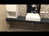Ванная комната . Исскусственный камень и Мдф покраска . Мебель под заказ