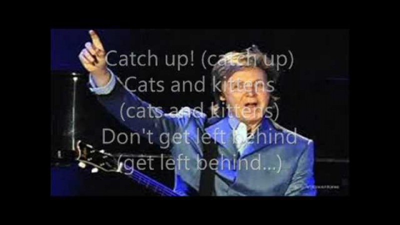 Paul McCartney- Monkberry Moon Delight- Lyrics