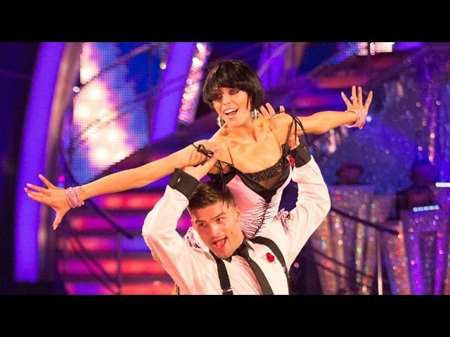 Abbey Clancy Aljaz Charleston to Cabaret - Strictly Come Dancing 2013 - BBC One