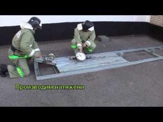 Волгодонский учебный центр ФПС - испытание ПТВ на стенде