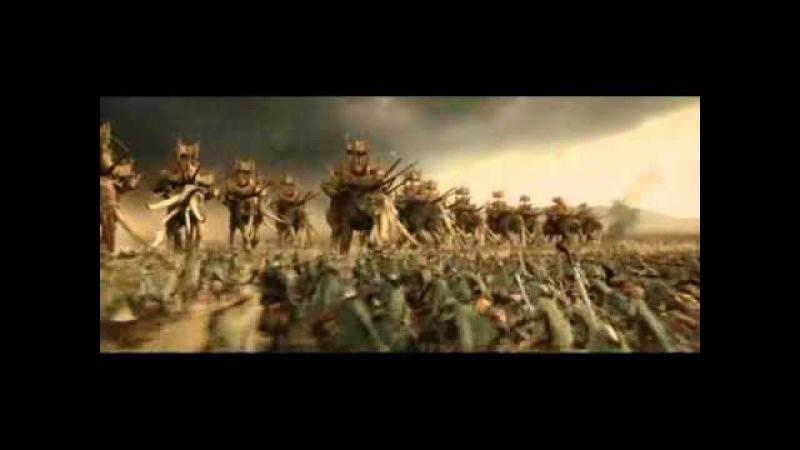 Rohan army vs Haradrim army