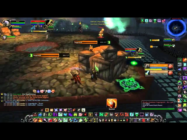 WoW WotLK Affliction Warlock PvP 2v2 Duels BGs