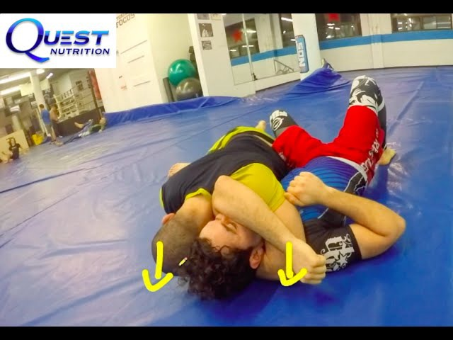 Brazilian Jiu-Jitsu - Advanced Basics - Knee On Stomach Transitions and Control - Firas Zahabi