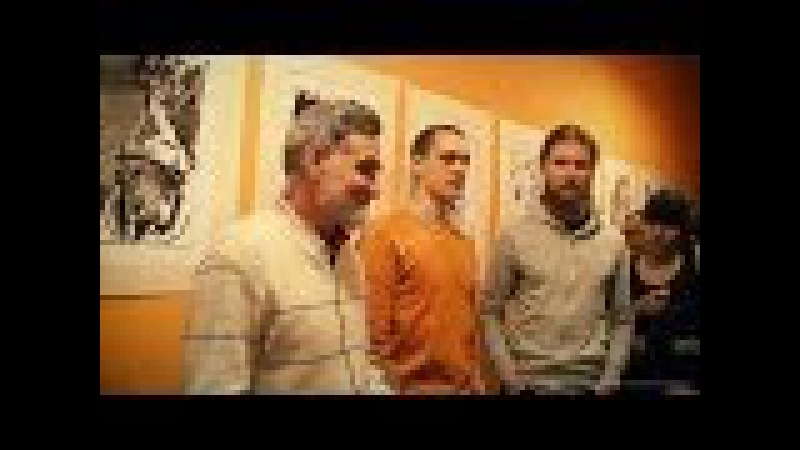 Мастер-класс Михаила Бабенкова о рисунке тростниковым пером