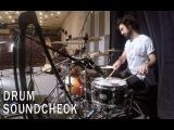 Grant Minasyan - Drum Soundcheck (Петр Мамонов и Совершенно Новые Звуки Му)