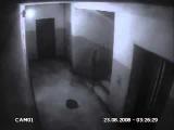 Инопланетянин в подъезде снят на камеру наблюдения