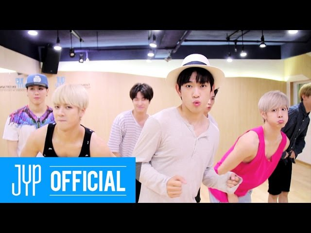 GOT7 Just right(딱 좋아) Dance Practice 2 (Just Crazy Boyfriend Ver.)