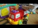 Мультики про машины. Пожарная и Почтовая машины. Игрушки для детей