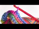 2 Урок. Подробное вязание крючком для начинающих.