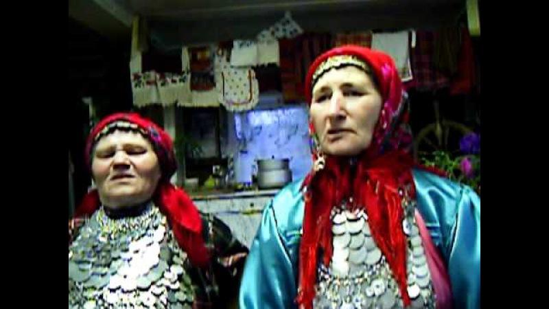 удмуртские бабушки из деревни Карамас-Пельга