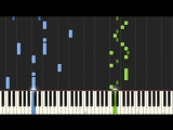 FNAF 4 Song - I Got No Time - The Living Tombstone [Piano Tutorial] (Synthesia) _HD