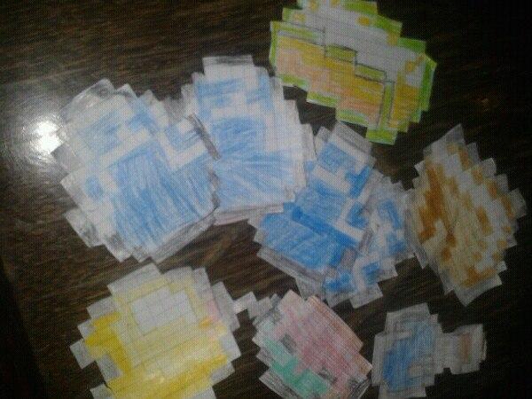 своими руками из бумаги зомби из минекрафт