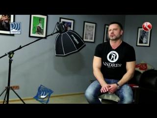Интервью с ANDRES model agency для телеканала КТК.