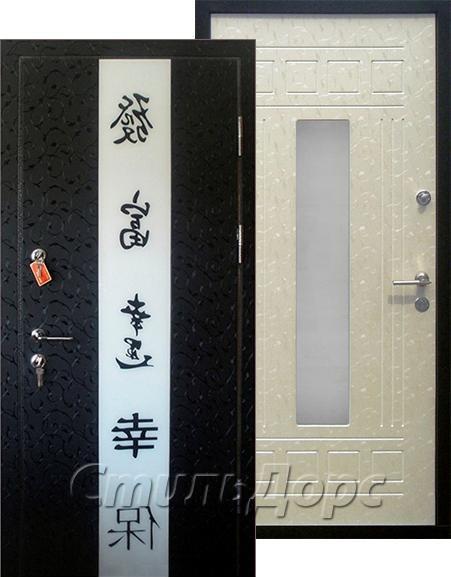 двери стальные со стеклом жуковский