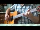 Шаланды полные кефали на гитаре Табы