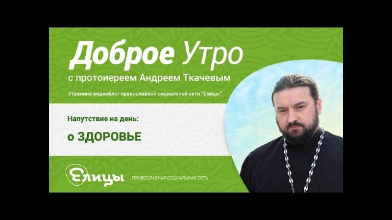 О ЗДОРОВЬЕ. прот. Андрей Ткачев. О болячках, ранах, преодолении. О смерти и жизни.