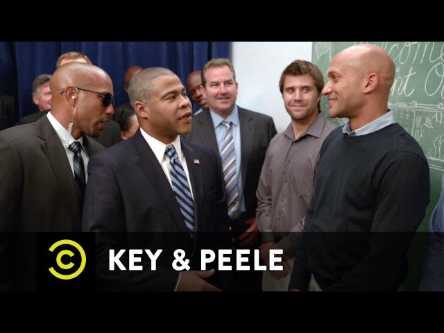 Key Peele Obama Meet Greet