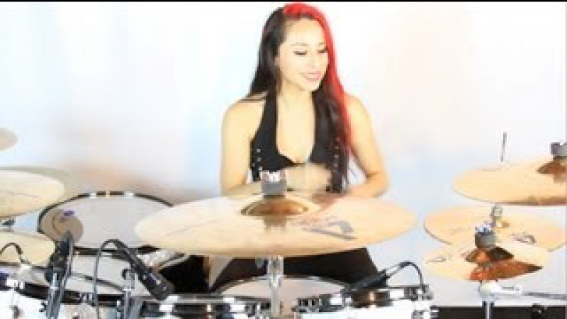 PANTERA COWBOYS FROM HELL - DRUM COVER | LUX DRUMMERETTE