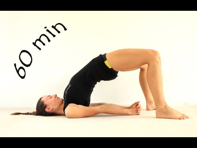 Виньяса йога для ягодиц и бедер | Укрепление ног | 60 мин