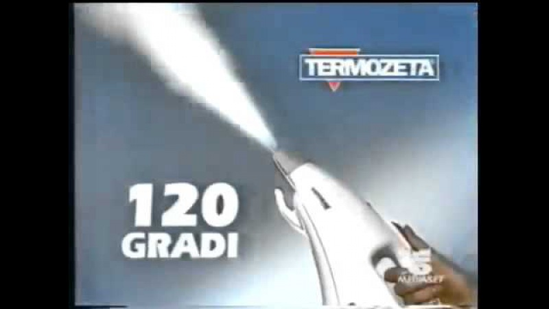 Vaporone pronto pulito. Реклама пароочистителя Вапороне из 90-х!