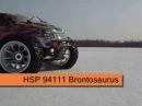 HSP 94111 Brontosaurus. Часть 10. Проходимость по снегу до и после блокировки дифференциала