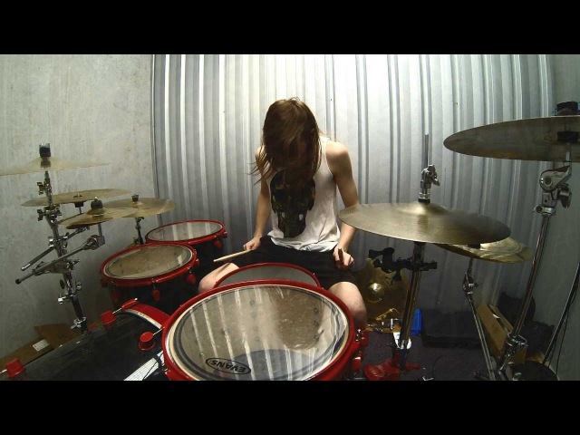 Drum Cover Can You Feel My Heart - BRING ME THE HORIZON July 07, 2013