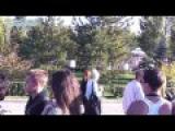 Волжские таланты поют на дне города на набережной Самары