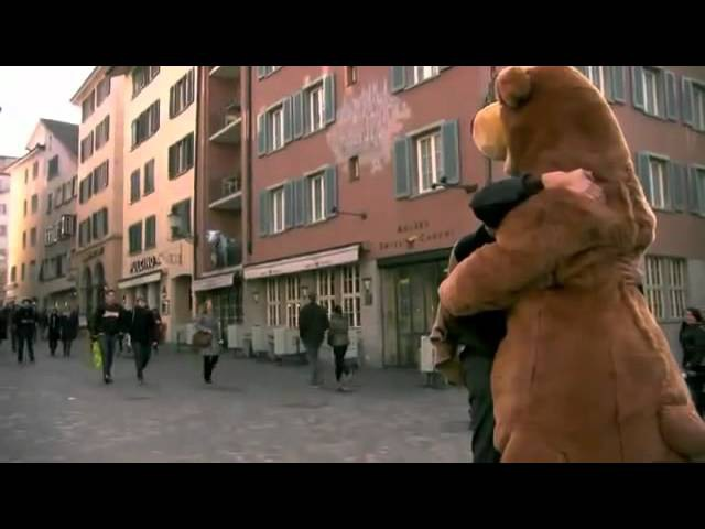 Free Hug Calins Gratuits We shouldnt need to dress up to get closer!    