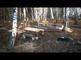 Заброшенная стоянка туристов рядом с озером / Велобудни на SN 630 #94