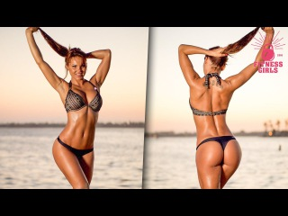 Julia Gilas - Fitness Model - Butt, Inner Thigh, Hip Extension Workouts and Gluteal Muscles