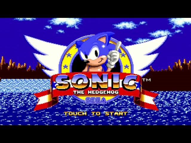 SONIC The Hedgehog Ёж Соник прохождение SEGA Mega Drive Genesis 020