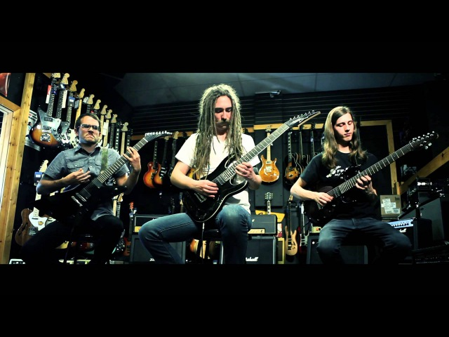 Mandroid Echostar The Kingdom and The Crown Guitar Playthrough