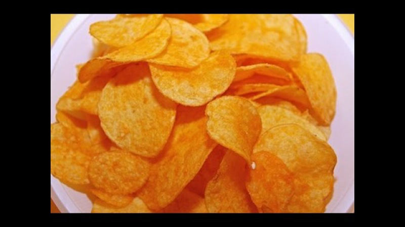 SHOCK How to make useful and very tasty chips for 20 minutes!