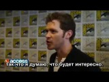 Joseph Morgan  Whats Ahead For Klaus On The Originals Season 3 [Rus Sub]