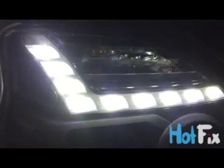 X-trail LED DRL hand made by HotFix