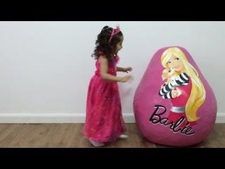 Большие подарочные яйца с игрушками Барби, Big Hero 6 и Человек паук