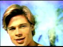 Young Brad Pitt early in his career Pringles Commercial| History Porn