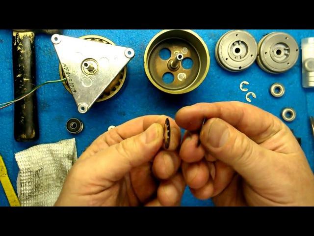 Электроника 004. Замена подшипников в боковых двигателях