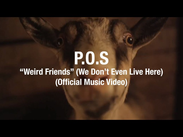 P.O.S. - Weird Friends (We Don't Even Live Here)