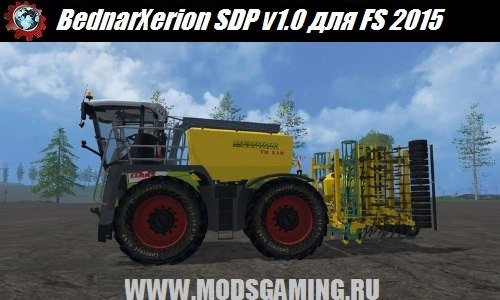 Farming Simulator 2015 download mod drills BednarXerion SDP v1.0
