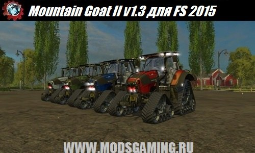 Farming Simulator 2015 download mod tractor Mountain Goat II v1.3