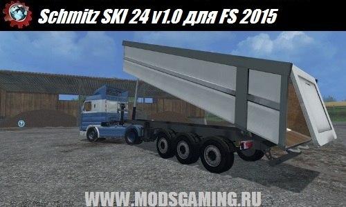 Farming Simulator 2015 trailer download mod Schmitz SKI 24 v1.0