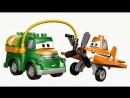 Развивающий мультфильм. Самолет Дасти и машинка Чух учат цвета - Самолёты Дисней в городе Лего