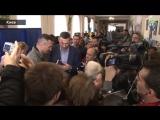 Виталий и Владимир и Наталия Кличко  пришли голосувать