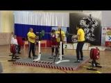 Сафронова Дарья, присед 50 кг
