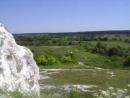 Велопоход Тополи Купянск Изюм 24 07 15 26 07 15 Вид с высоты меловой горы