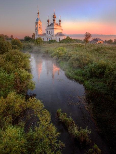 Утром в селе Савинское © Атоян Александр