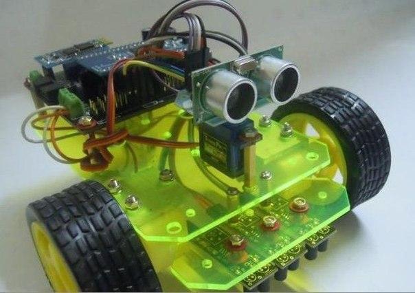 Робот на arduino своими руками